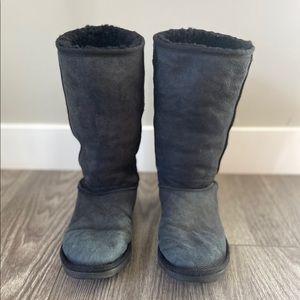 UGG Australia classic tall black boots Size 9